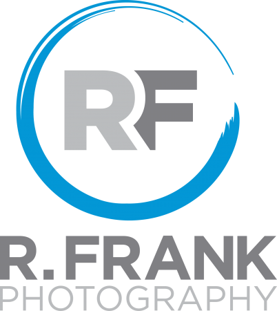 R. Frank Photography Circle Logo Stacked